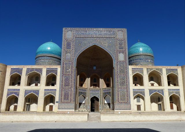 Cenrtral Asia Mosque Bhukara Silk Road
