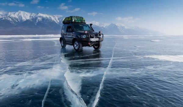 Landcruiser self drive ice road journey BAM Russia