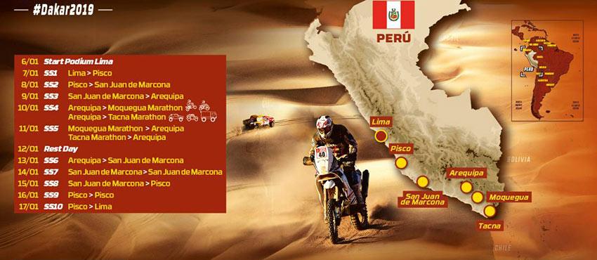 Dakar Rally Tour 2019